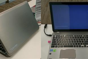 فروش لپ تاپ استوک Toshiba P50t-B