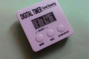 ساعت آزمایشگاهی ، تایمر دیجیتال