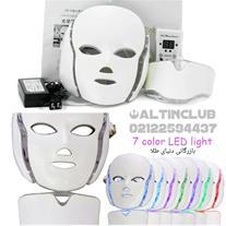 ماسک صورت LED و نور درمانی