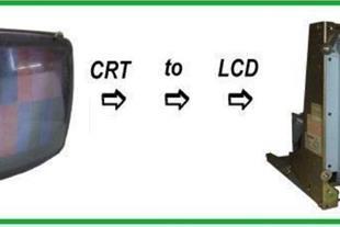 تعمیر مانیتور cnc و تزریق پلاستیک با LCD