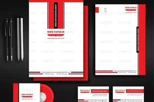 طراحی سربرگ و پاکت با تخفیف ویژه - طراحی ست اداری