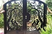 سالی درب درب ورودی - حیاطی