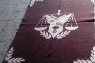 تولید پتو آرم دار سازمان زندان ها(پتوی شکوفه)