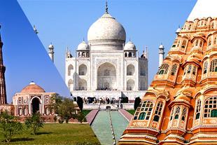 تور هند نوروز 97 - 3 شب دهلی 2 شب آگرا 2 شب جیپور