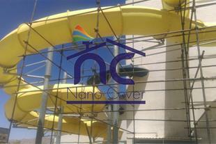عایق و پوشش رنگی روی نمای ساختمان
