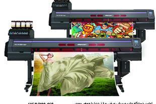 دستگاه چاپ روی استیکر و وینیل با جوهر ضدخش یووی