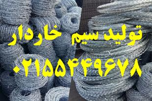 تولید کننده سیم خاردار ، توری حصاری