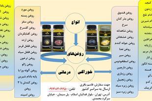 تولید و فروش انواع روغن های خوراکی و درمانی