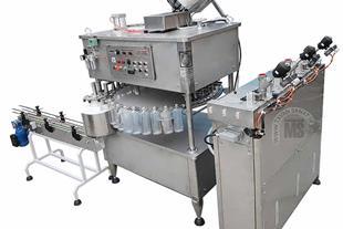 دستگاه پرکن مایعات غلیظ در بطری های پت همراه دربند
