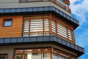 فروش چوب نمای ساختمان - ترمووود slp