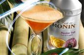 پوره میوه طبیعی با طعم رزبری برند MONIN