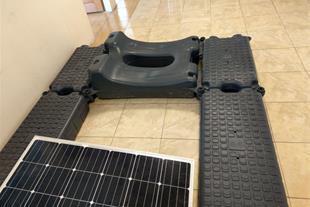 شناور پلاستیکی ماژول خورشیدی جهت نیروگاه