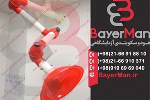 هود بازویی نصب و عرضه در شرکت بایرمن
