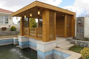اجرای نما خشک - طراحی نما چوب