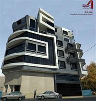 طراحی حرفه ای نمای بیرونی ساختمان