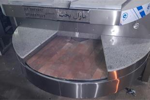 دستگاه نانوایی پخت نان لواش , تافتون , بربری