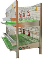 فروش قفس بلدرچین 2 طبقه برای باغ و ویلا