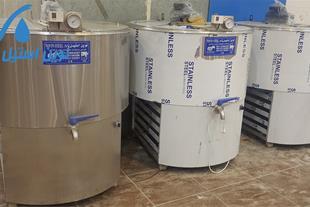 لبنیاتی شیرسردکن  -نوین استیل