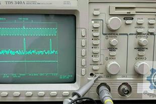 اسیلوسکوپ دیجیتال tektronix tds 340a تولید آمریکا