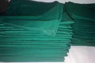 شان سبز پارچه ای