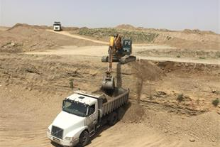 خاکبرداری و گودبرداری - اجاره بیل مکانیکی تهران