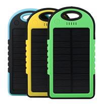 شارژر همراه پاوربانک خورشیدی