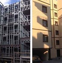 انبوه سازی ساختمان