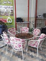 میز و صندلی مدل لارنا یا لارناکا