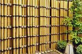 چوب بامبو برای طراحی دکور