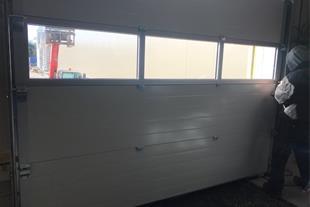 درب پارکینگ -درب های زیر سقفی یا سکشنال کامه(CAME)