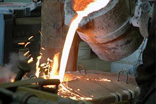 ریخته گری انواع آلیاژ های آهنی (فولاد و چدن)