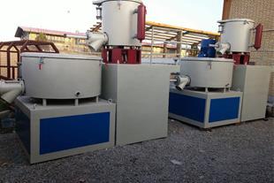 ساخت انواع میکسر HOT/COLD محصولات پی وی سی