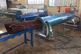 دستگاه خشک کن فرش+دستگاه آبگیر قالیشویی+قیمت آبگیر