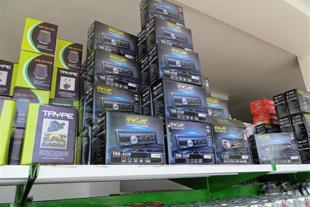 توزیع سیستم پخش خودرو برند توئیست