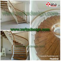 پله گرد فلزی قیمت پله فلزی و چوبی ، پله دوبلکس پیچ