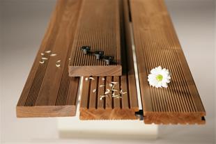 فروش و نصب چوب ترمو/چوب پلاست و تایل کف