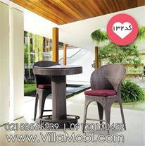میز و صندلی اپنی حصیری کد132