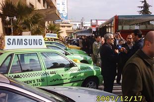 تابلو تبلیغاتی ویژه تاکسی شهری وخودرو