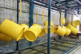 خدمات رنگ پودری الکترواستاتیک در سه راه آدران