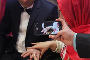 آتلیه عروس(عکس وفیلم)سامان