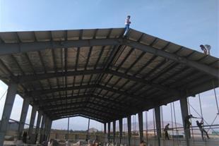 پوشش سقف سوله توری و پشم وشیشه