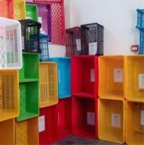 فروش انواع سبد و جعبه های پلاستیکی