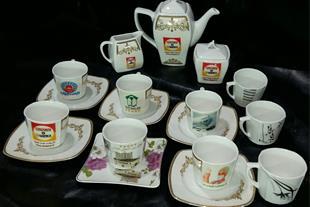 هدیه دادن و زیبایی دفتر کار چاپ سرویس چای خوری