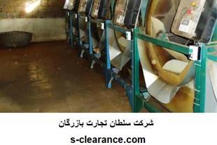 ترخیص ماشین آلات خط تولید چای از گمرک