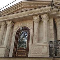 فروش سنگ مرمریت دهبید دنا سفید در صنایع سنگ چلیپا
