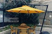 فروش چتر پایه کنار 4 متری 8ضلعی