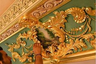 آموزش مقدماتی تا پیشرفته  پتینه سقف ،دیوار