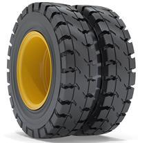 solid tire  تایر توپر لاستیک توپر ماشین پاتیل کش