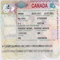 ویزای دانش آموزی - دانشجویی - توریستی کانادا