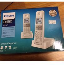 تلفن بی سیم فیلیپس مدل D450